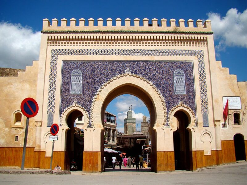 bab bou jeloud Things to do in Fez Morocco