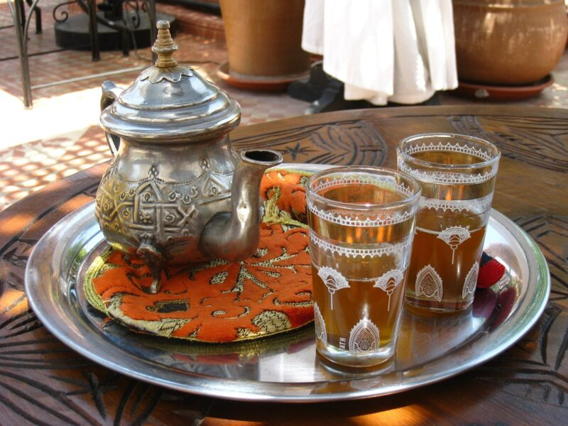 drink moroccan tea what to do in Marrakech morocco