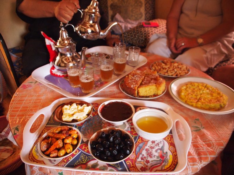 berber breakfast-what to eat agadir morocco