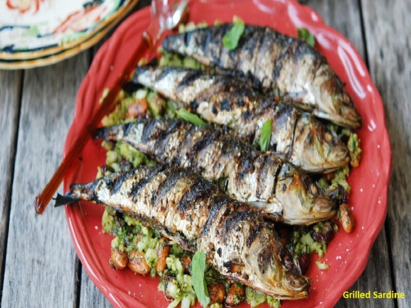 grilled sardine;morocco;best traditional food