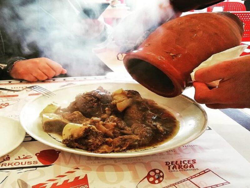 best things to eat in morocco tanjia in Marrakech
