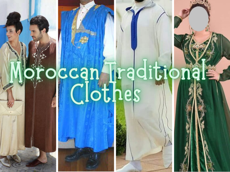 list of traditional dress shoes arab berber moroccans for both women and men
