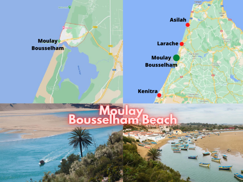 Beautiful Beaches in The Moroccan Atlantic Coast;moulay bousselham;morocco