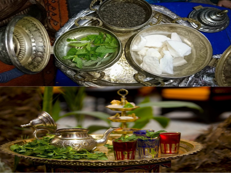 how to make moroccan mint tea;ingrediens;;inmoroccotravel
