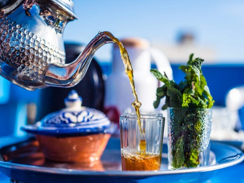 famous drink in morocco fresh morocco mint tea;history;ingrediens;how to make tea