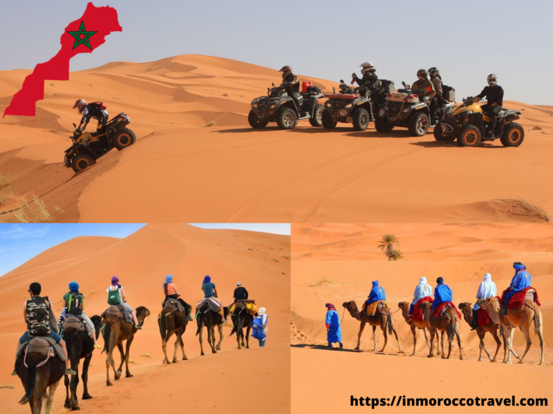 Best things to do in Ouarzazate;morocco;quad adventure;take a desert tour