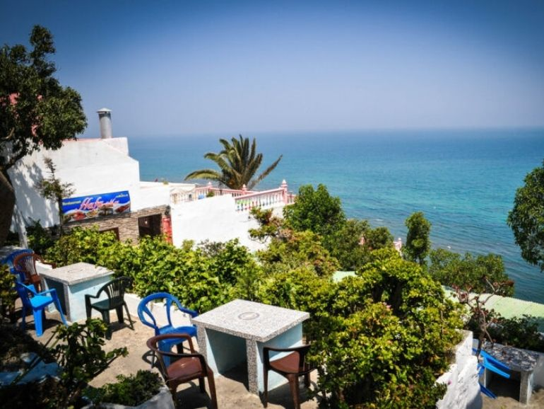 cafe hafa, best places to visit in tangier morocco